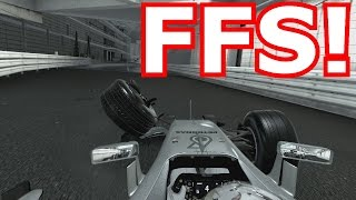 F1 2016 Gameplay - MONACO IN FULL WET CONDITIONS!  (PS4 Gameplay)