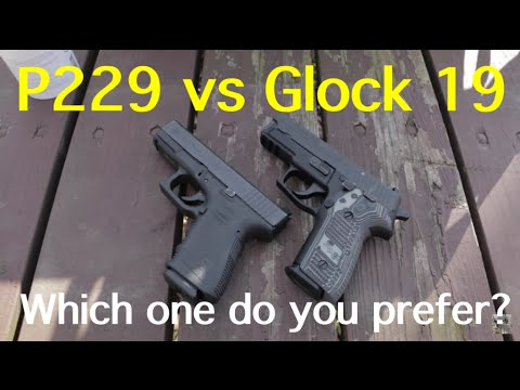 Sig P229 vs Glock 19 | Which one do you prefer?