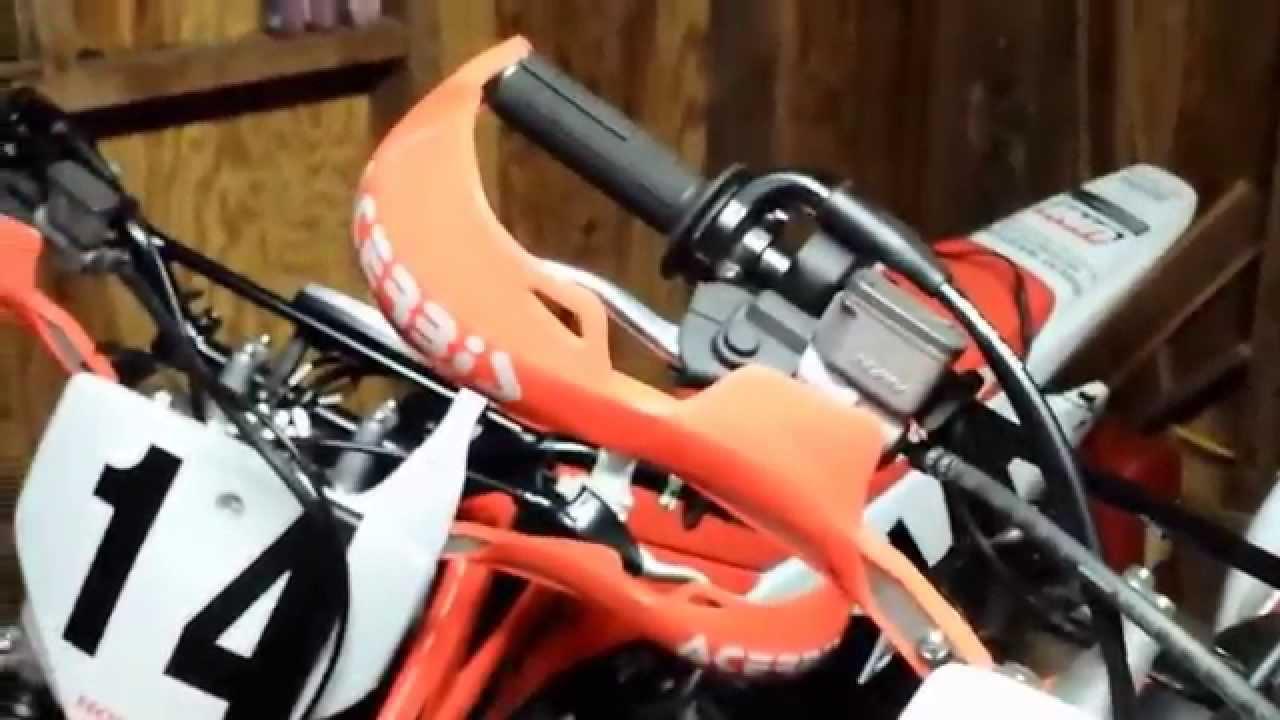 Acerbis Spoiler pour handprotectors RALLY PRO Orange