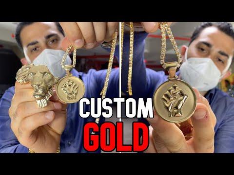 INSANE CUSTOM GOLD PIECES !