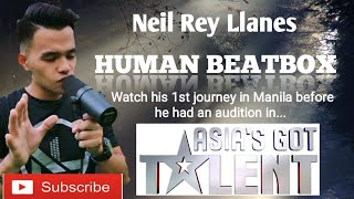 Neil Llanes 1st journey in Manila showed his powerful talent in Aim Global! 😍