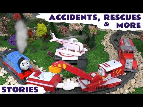 Thomas & Friends Accidents Rescues Play Doh Diggin Rigs Toy Story Episodes Surprise Eggs Stories