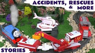 thomas friends accidents rescues play doh diggin rigs toy story episodes surprise eggs stories