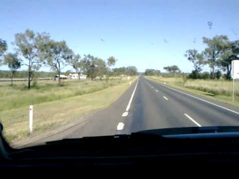 Driving on the Capricorn highway