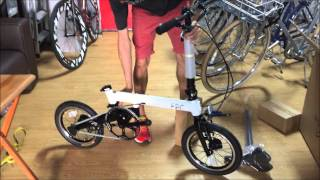 LIOW VIDEO --- Unboxing of FSIR SPIN 2 folding bicycle 小轮自行车