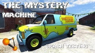 BeamNG Drive Alpha The Mystery Machine Crash Testing #63 HD