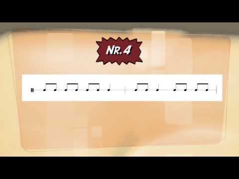 Gehörbildung - Rhythmus (Tak Tiki)