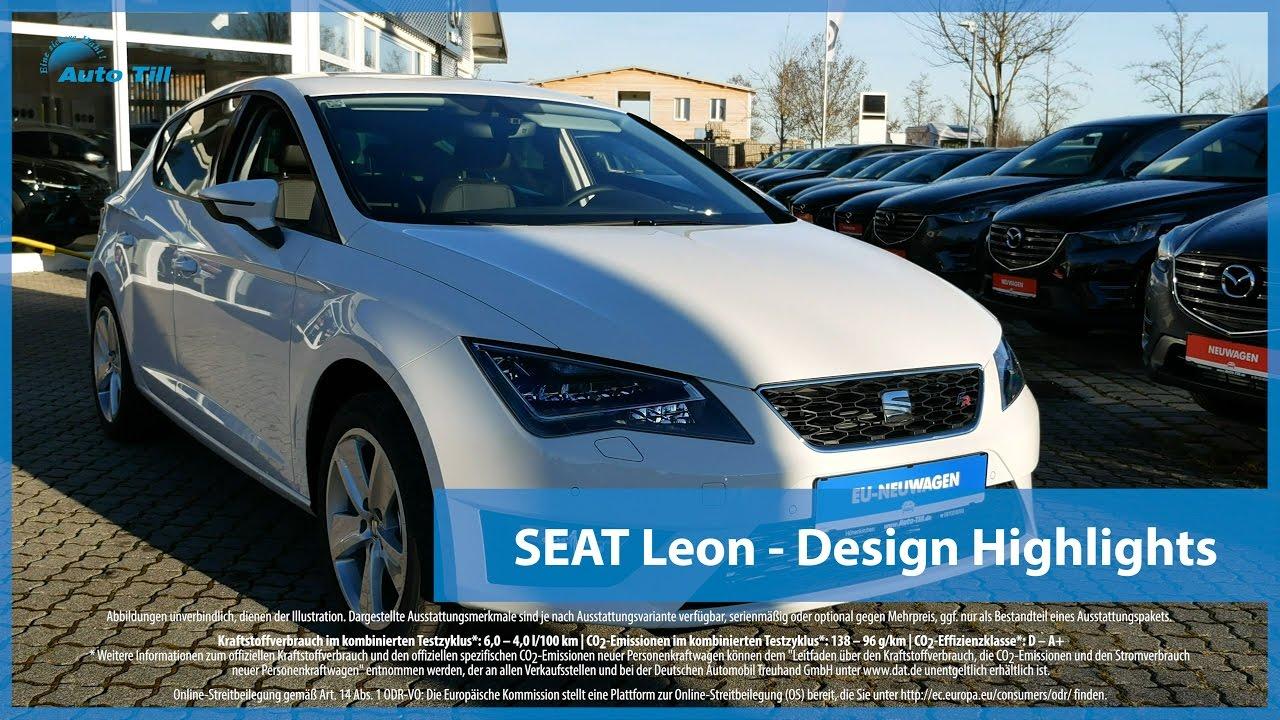 seat leon design highlights 4k uhd youtube. Black Bedroom Furniture Sets. Home Design Ideas