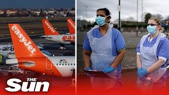 All EasyJet flights grounded from COVID-19 crisis as cabin grew sign up to NHS