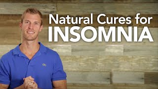 Natural Cures for Insomnia | Dr. Josh Axe