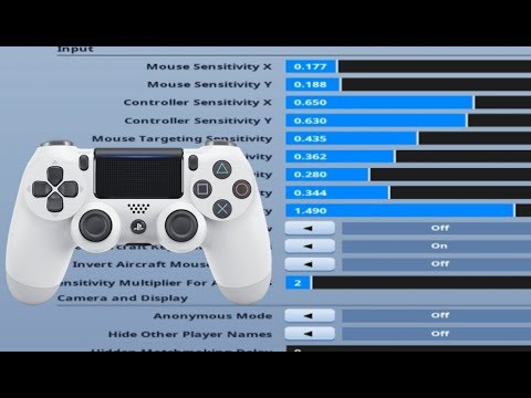 Best Controller Settings For Good Aim and Fast Editing