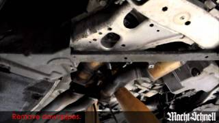 Macht Schnell N54 Catless Track Downpipes Installation Overview - e92 335i