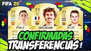 FIFA 20 - TRANSFERENCIAS CONFIRMADAS (MERCADO DA BOLA) - DYBALA,GRIEZMANN, DE LIGT...etc