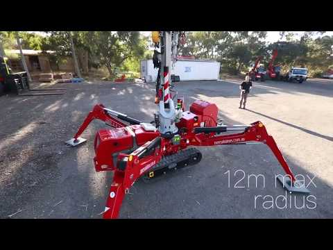 Zone Group - Mini Crawler Crane / Spider Crane 424