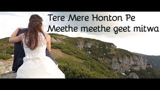 Download lagu tere mere honton pe meethe meethe geet mitwa chandni cover by r jafri MP3