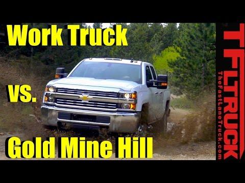 2017 Chevy Silverado HD 2500 WT vs Gold Mine Hill Off-Road Review