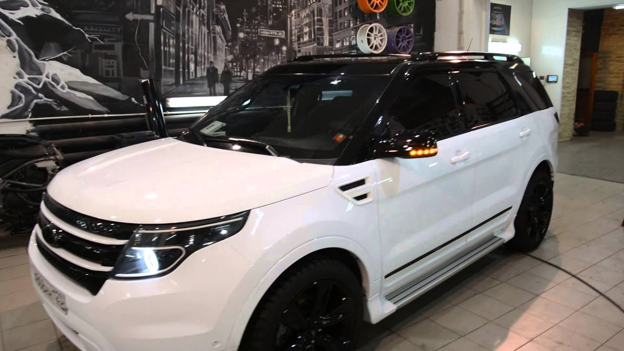 Ford Explorer styling kit by autoworksrussia - YouTube