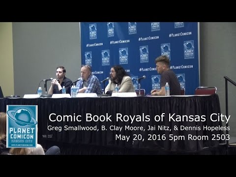 Planet Comicon 2016 Panel - Comic Book Royals of Kansas City