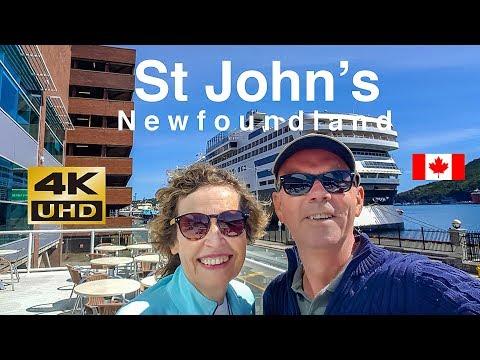 Transatlantic Cruise St John's Newfoundland Canada 2019 Part 4