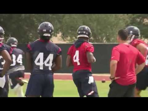 Deshaun Watson turning heads at Texans Mini Camp