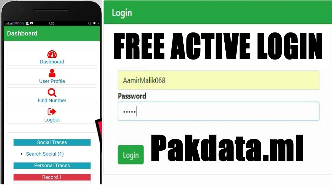 Person Tracker Active Login Giveaway for free