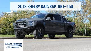 URBAN LEGEND | 2018 Shelby Baja Raptor | SEMA SHOW 2017