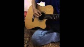 Valentine chờ guitar cover
