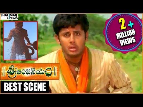 Sri Anjaneyam Movie || Nithin Scared Of Being Alone Comedy Scene