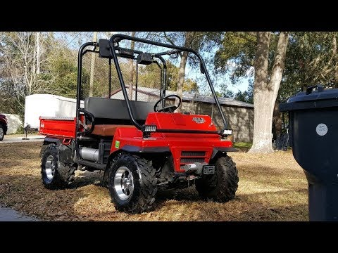 Custom Kawasaki Mule 2510 4x4 Youtube