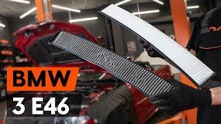 Montering Luftfilter BMW 3 SERIES: videoinstruktioner