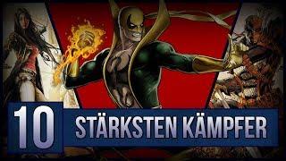 Die 10 BESTEN Kämpfer aus DC und Marvel 2018!