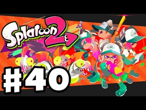 Splatoon 2 - Gameplay Walkthrough Part 40 - Salmon Run! All Bonuses! (Nintendo Switch)