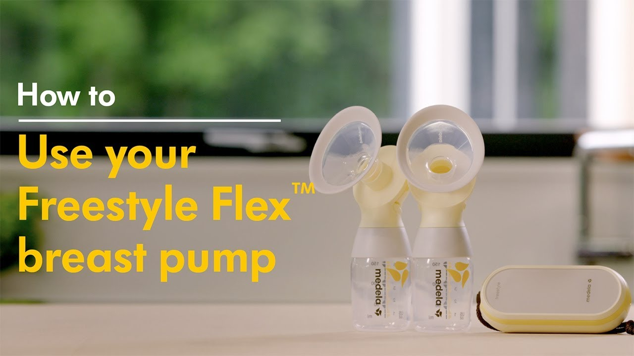 How To Use Medela Freestyle Flex Double Electric Breast Pump