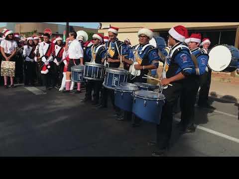 Christmas Parade - Drum Battle / Imperial v Brawley v Calexico [part 1] ( 12/02/17 )