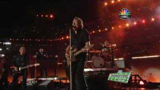 Working On a Dream & Glory Days - Bruce Springsteen Halftime Superbowl 2009
