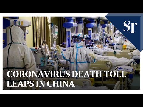 Coronavirus death toll leaps in China   The Straits Times