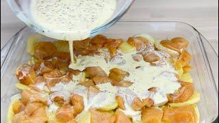 Приготовьте таким образом курицу и картофель и вы получите потрясающий результат 101