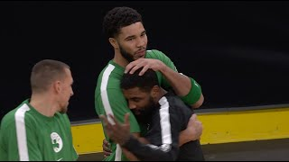 Kyrie Irving Shows Nothing But Love To His Former <b>Celtics</b> ...
