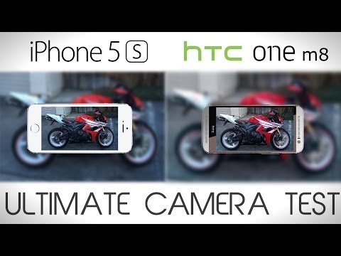 HTC ONE M8 vs iPhone 5S - Ultimate Camera Test