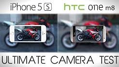HTC ONE M8 vs iPhone 5S - Ultimate Camera Test