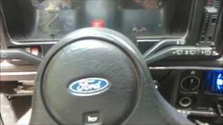 Кнопка ''АВАРІВ'' від ВАЗ 2108 в Ford Sierra