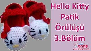 Hello Kitty Patik Örülüşü 3 Bölüm , Canım Anne