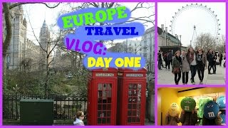 Europe Travel Vlog Day 1: London, England