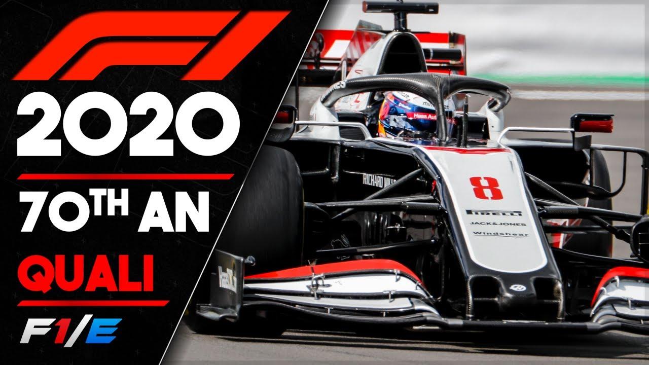 70th Anniversary Grand Prix Qualifying Report F1 2020