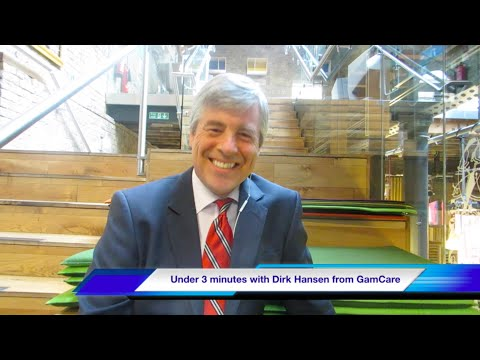 Under 3 Minutes With Dirk Hansen, CEO Of GamCare