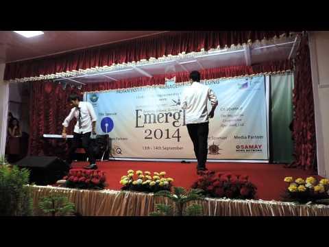 IIM Shillong Dance - Dangerous