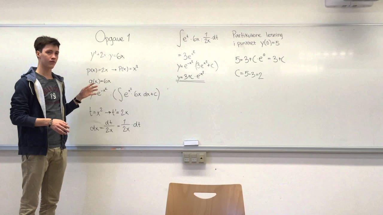 Lineære differentialligninger (Gruppe 1)