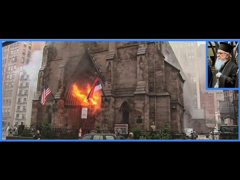 Filmed from the very beginnning: St Sava, New York burning down