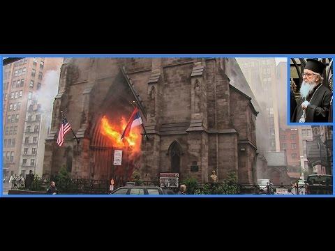 Filmed from the very beginnning: St Sava, New York burning down