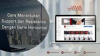 Cara Menentukan Support dan Resistance Dengan Garis Horizontal